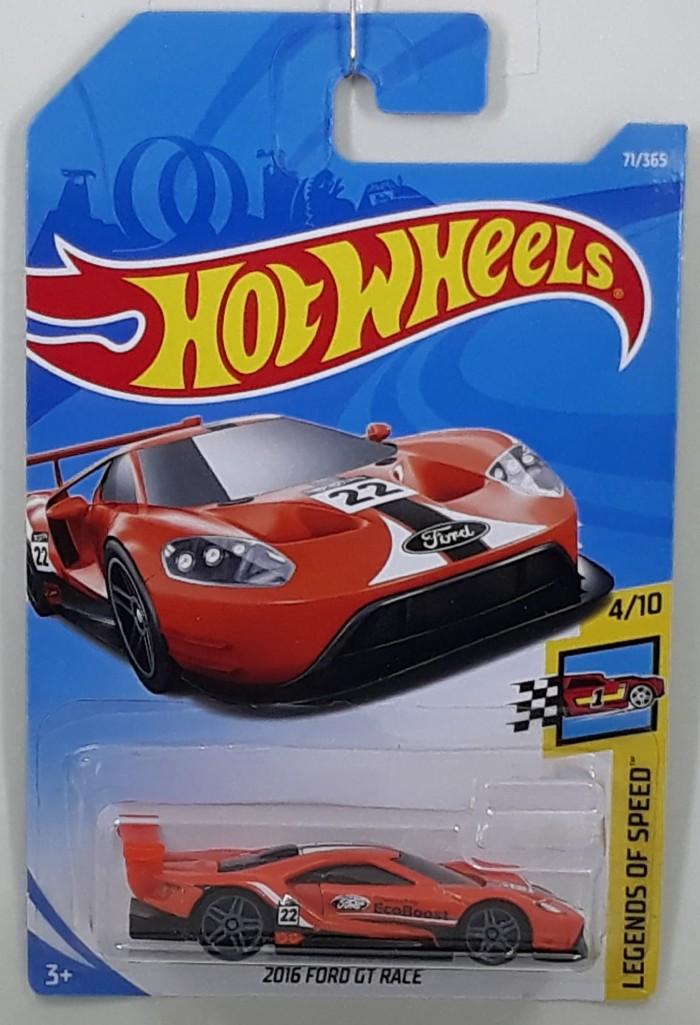 Ford Gt Race Orange Lot  Hotwheels