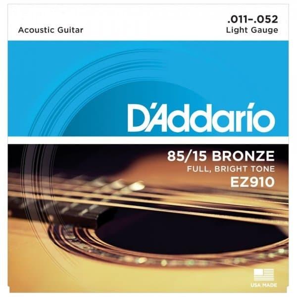 harga Senar gitar akustik d'addario ez910 .011-.052 accoustic string Tokopedia.com
