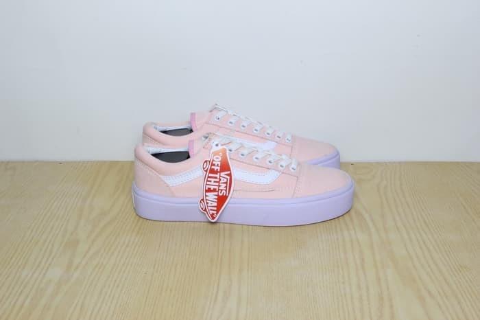 Jual Sepatu Vans Old Skool Wanita Cewe Fashion Women Grade Original ... 2579ad0f17