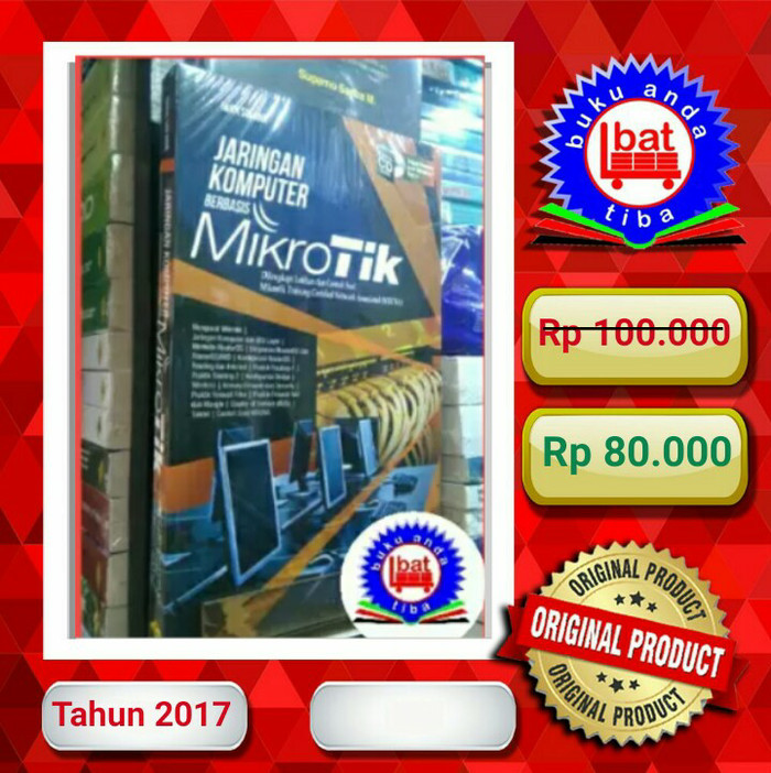 harga Buku jaringan komputer berbasis mikrotik iwan sofana Tokopedia.com