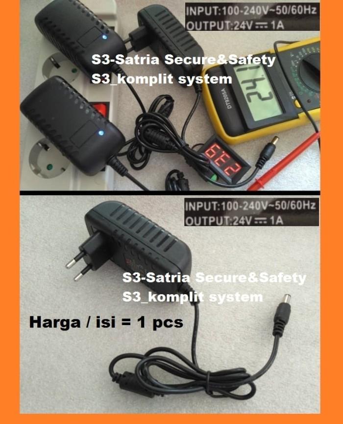 harga Adaptor 24v 1a compatible untuk adaptor mikrotik adaptor ubiquity Tokopedia.com