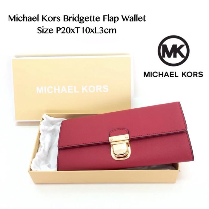 5276eff83bb9 Jual Michael Kors Bridgette Flap Wallet - Bazaar911 | Tokopedia