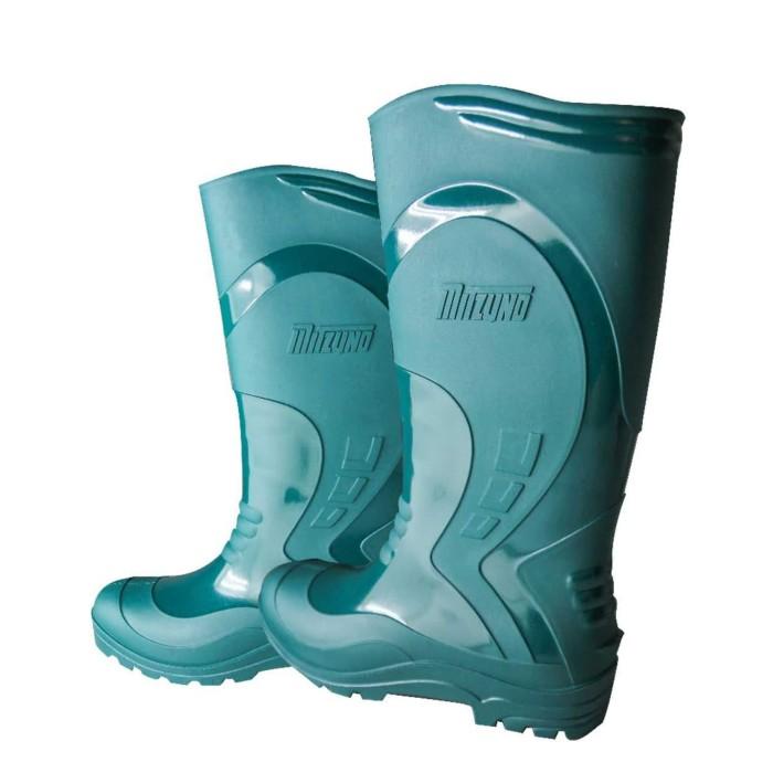 Jual Sepatu Boots Proyek Anti Air Mitzuno Hijau Safety Shoes Premium ... 5b574b1268