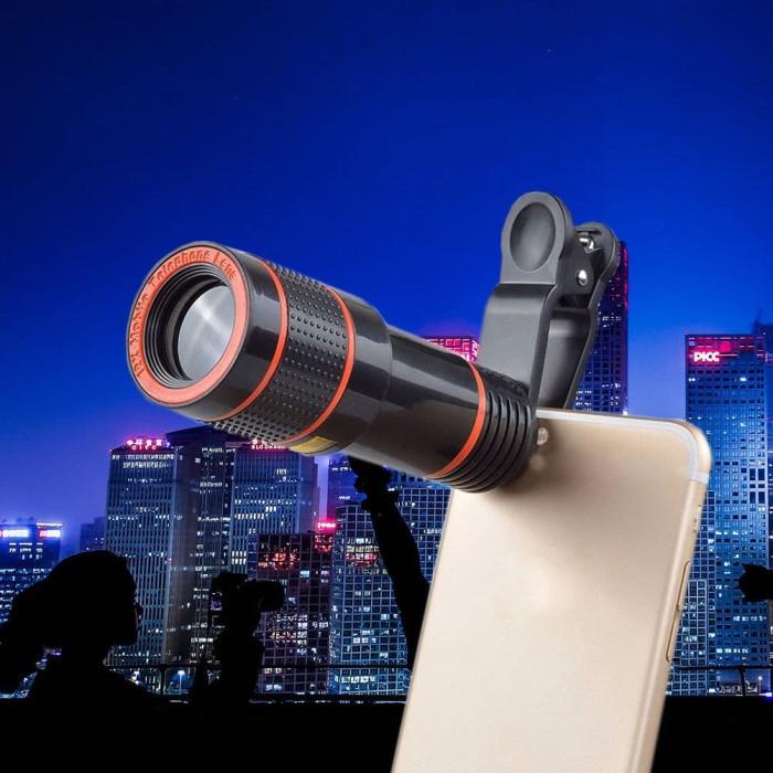 harga Telescope camera lens 12x optical zoom Tokopedia.com