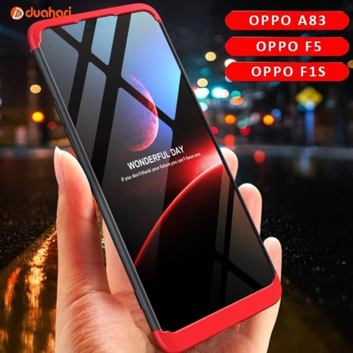 Casing Cover Hard Hybrid Case OPPO F5 A8 F1S A59 F7 PLUS GKK 360