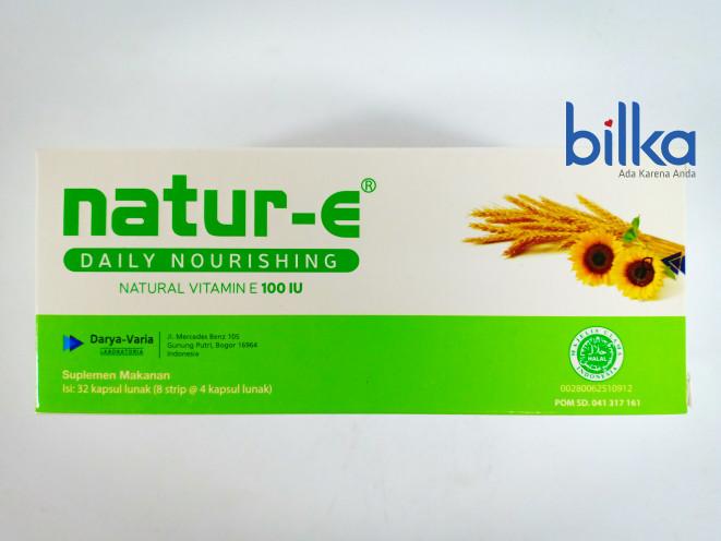 NATUR-E Natural Vitamin E 100 IU (Isi 32 Kapsul)