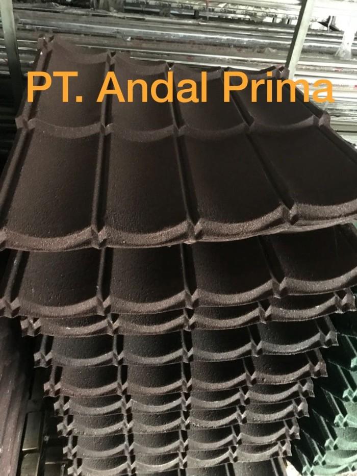 harga Genteng metal pasir 2x4 coklat tbl 0.30mm Tokopedia.com