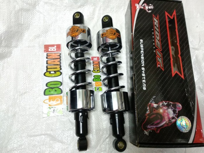 harga Shock klasik custom japstyle model harley krom crhome Tokopedia.com
