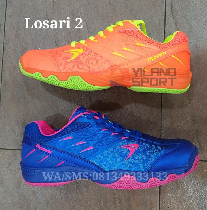 Harga Sepatu Badminton Flypower Losari 2 Tokopedia