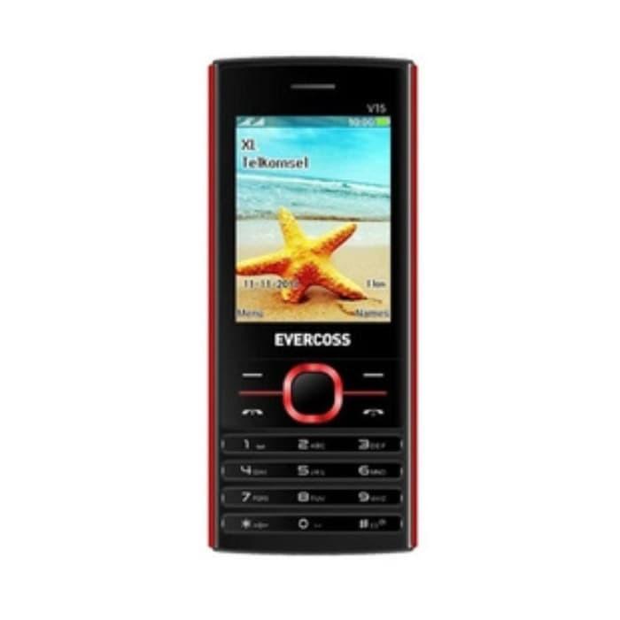 harga Sale !!! handphone evercoss v15 candybar 2.4  - dual sim - bluetooth Tokopedia.com