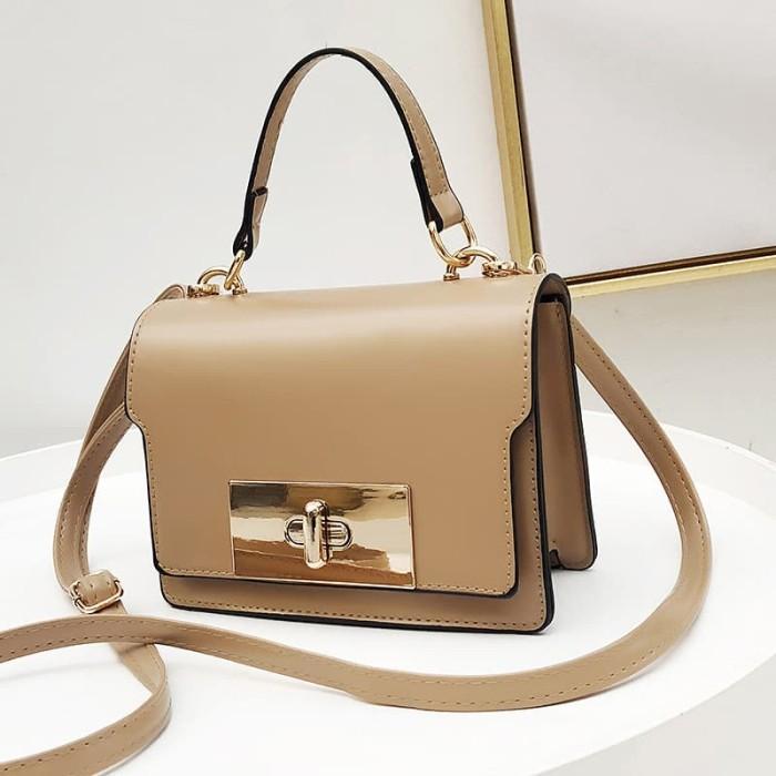 Bag wanita hand bag Tas Import New Model new fashion   barang import -  Maroon b4c051866d