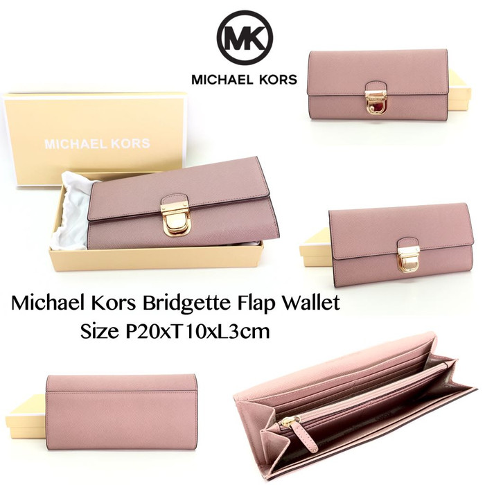7435b7879ae8 Jual Michael Kors Bridgette Flap Wallet - DKI Jakarta ...