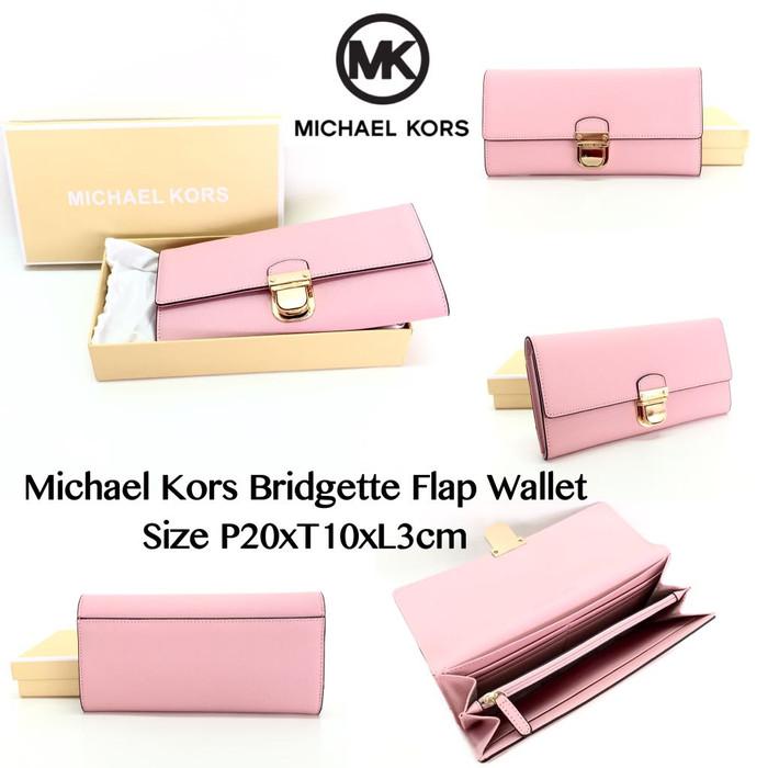 07c808082788 Jual Michael Kors Bridgette Flap Wallet - celinebaglovers | Tokopedia