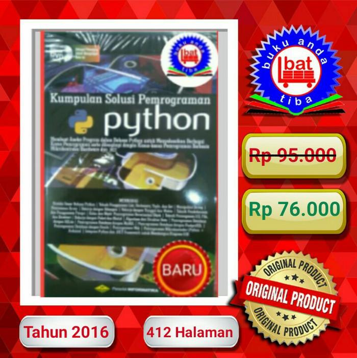 harga Solusi dan pemrograman python Tokopedia.com