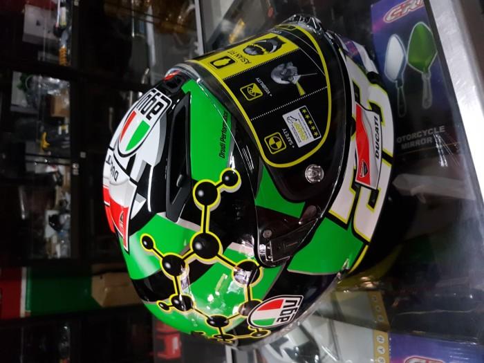 Helm agv corsa iannone 2