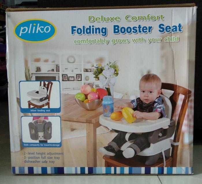 harga Pliko baby folding booster seat tempat kursi makan anak Tokopedia.com