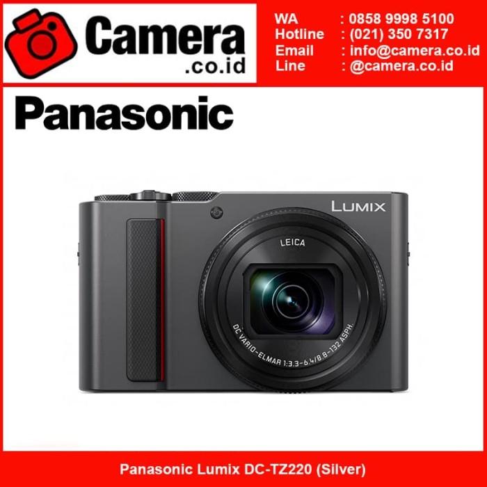 harga Panasonic lumix dc-tz220 kamera pocket - silver Tokopedia.com
