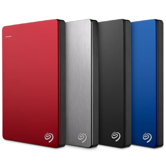 Harddisk EXTERNAL SEAGATE BACKUP PLUS SLIM 1 TB - Putih