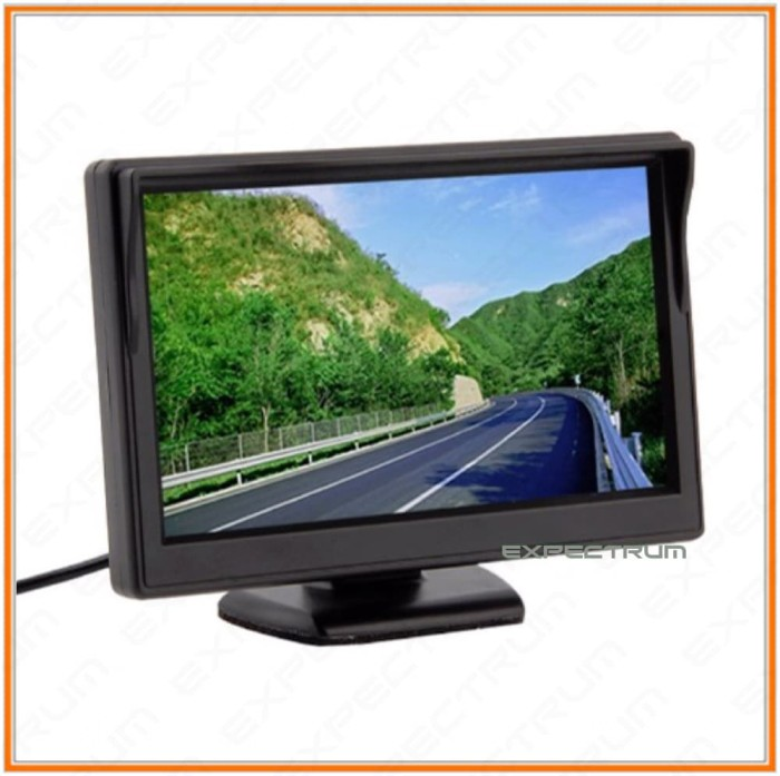 harga Car monitor 5 inch tft lcd color rearview monitor for dvd. cam Tokopedia.com