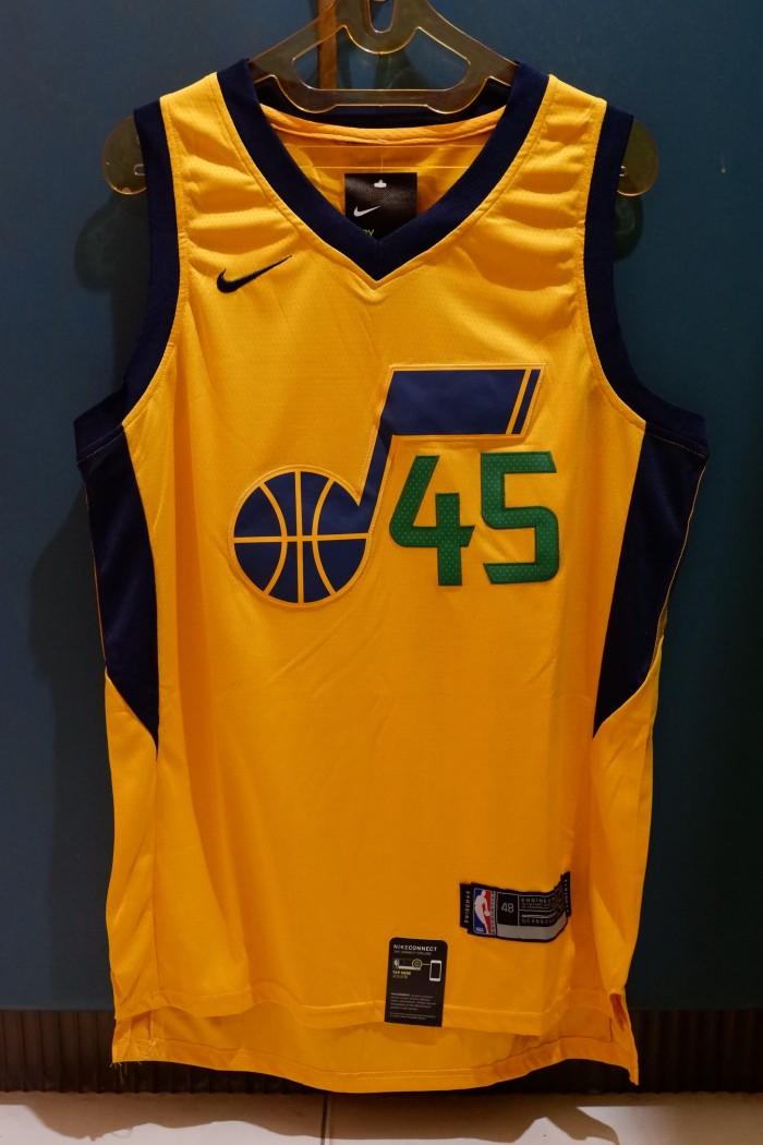 free shipping 90f36 c0587 Jual Jersey Basket NBA Swingman KW Donovan Mitchell Utah Jazz Kuning Import  - Kuning, M - Kota Medan - Seven Authentic Store   Tokopedia