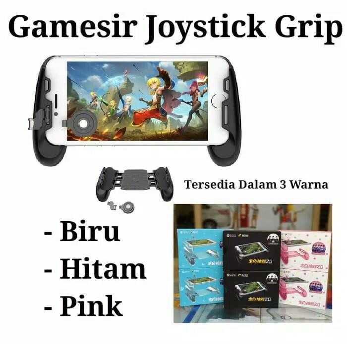Foto Produk GAMESIR JOYSTIK GRIP HANDGRIP ANDROID dari Divisi Game