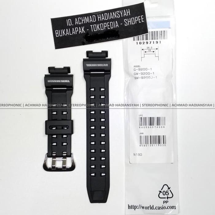 harga Casio original tali strap gshock riseman g9200 gw9200 g-9200 gw-9200 Tokopedia.com
