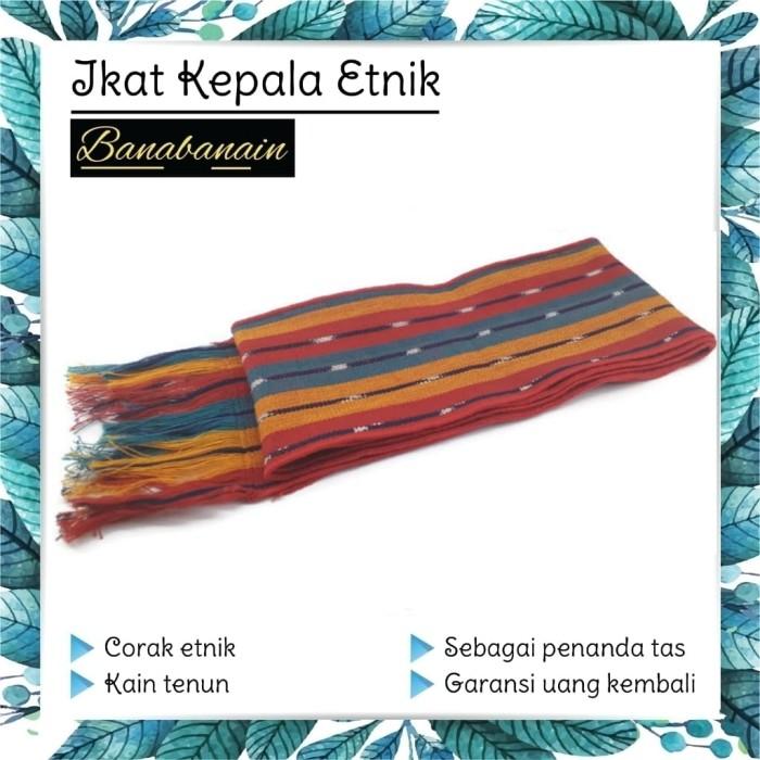 harga Ikat kepala iket kepala hiasan penanda tas etnik headband tenun Tokopedia.com