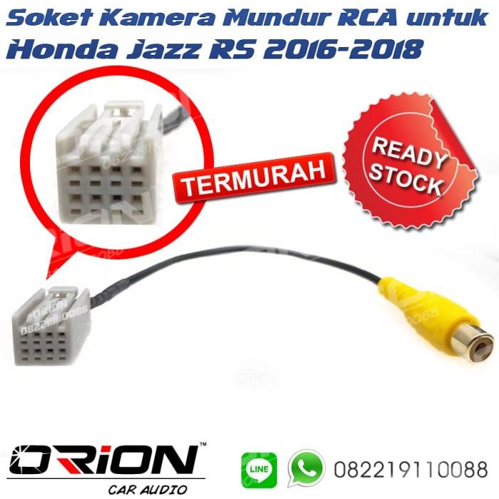Jual Soket Kamera Mundur RCA Honda HRV 2018 - Kota Bandung - Orion on