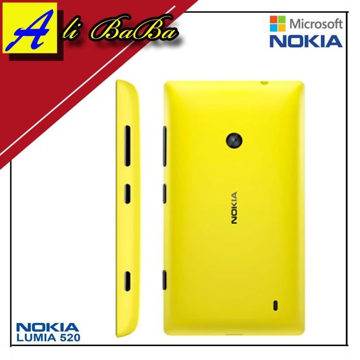 harga Backdoor handphone nokia lumia 520 back cover nokia 520 tutup baterai Tokopedia.com