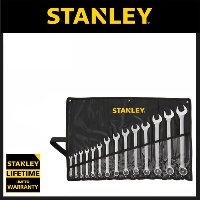 Jual Stanley Combination Wrench Set 14pc [8-32mm] - Kunci