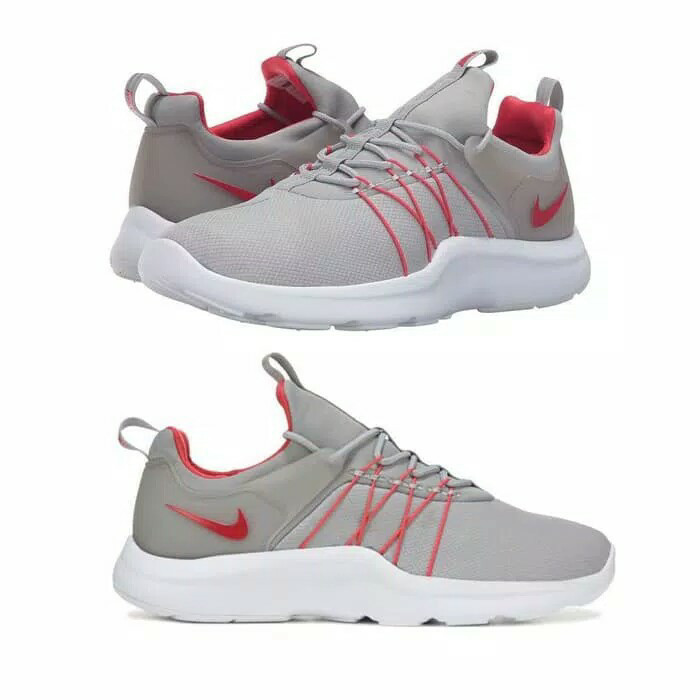 new style 6e65c 9e640 ... usa sepatu original nike darwin silver red clean styles sneakers 51ea5  27aa1