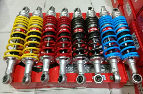 harga Shockbreaker shock supra x125 - kharisma rcb e series 335mm racing boy Tokopedia.com