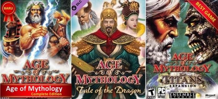 harga Age of mythology complete edition semua seri lengkap Tokopedia.com