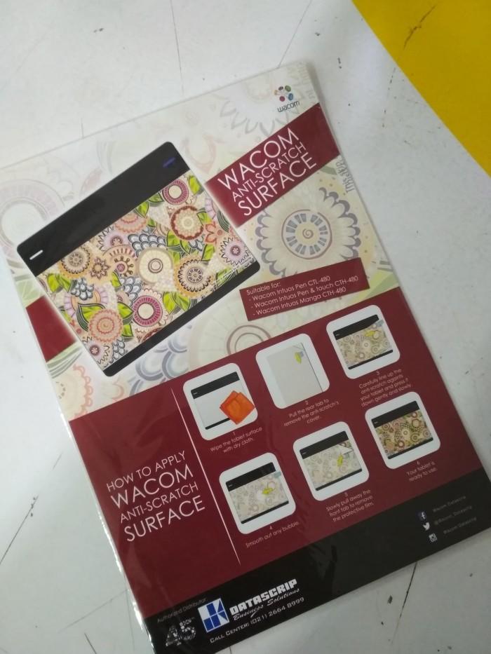 harga Anti gores khusus untuk wacom seri intuos small ada motif batik Tokopedia.com