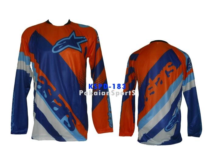 harga Baju jersey sepeda - motocross lengan panjang astars. kode kspd-183 Tokopedia.com
