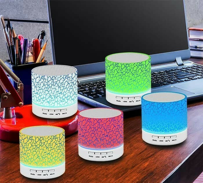 harga Speaker bluetooth s10 motif lampu tidur mini promo murah Tokopedia.com