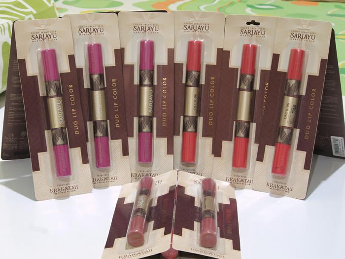 Katalog Lipstik Sariayu Travelbon.com