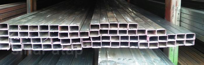 Jual BESI HOLLOW GALVANIS 40x60 TEBAL 2 MM PANJANG 6 M