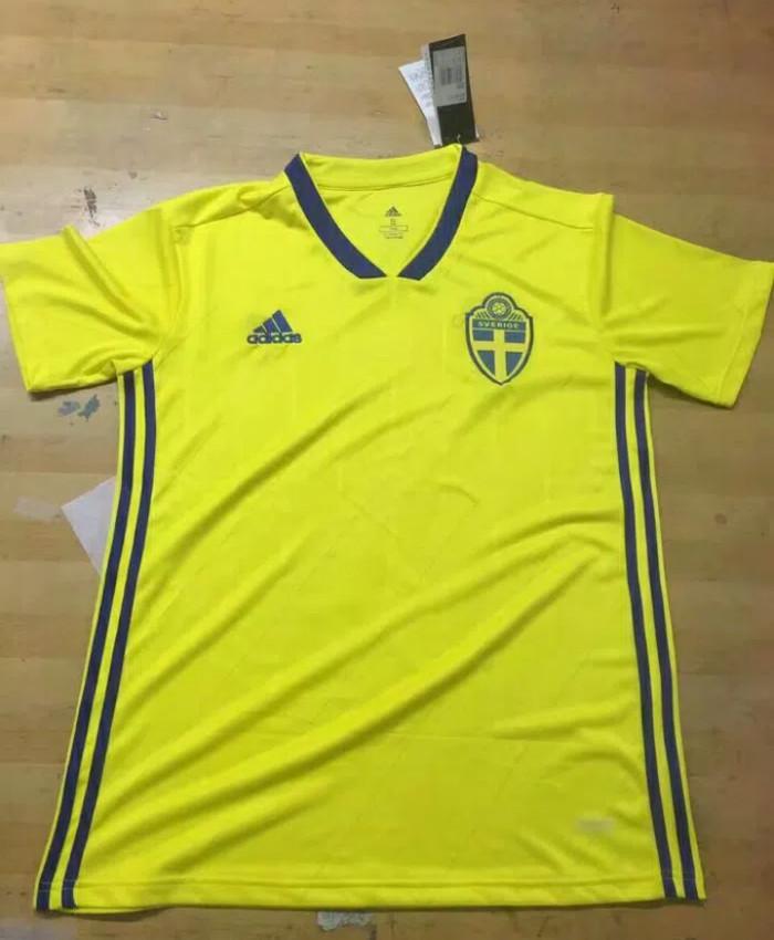 Jual Jersey Swedia Home world cup 2018 grade ori import ... f3f9018c3