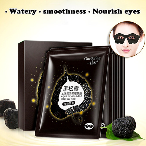 One Spring Aqua Smooth Black Eye Mask 15gr / Masker Mata / SKC0518005