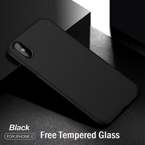 Foto Produk CAFELE Ultra Thin Case - iPhone X [Free Tempered Glass] - ORIGINAL - Abu-abu dari PH-KINGDOM