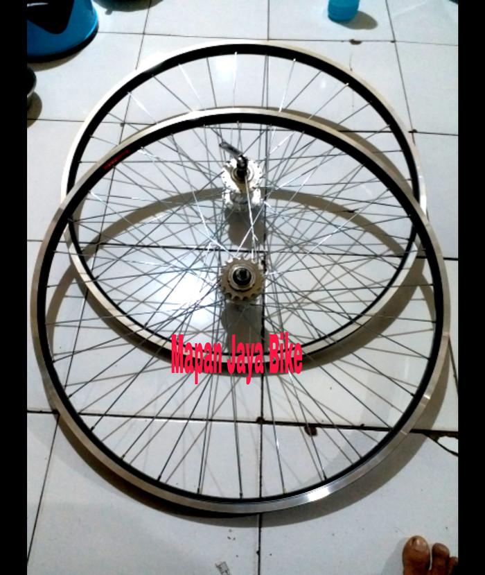 harga Wheelset sepeda fixie 700c araya tx 733 doltrap Tokopedia.com