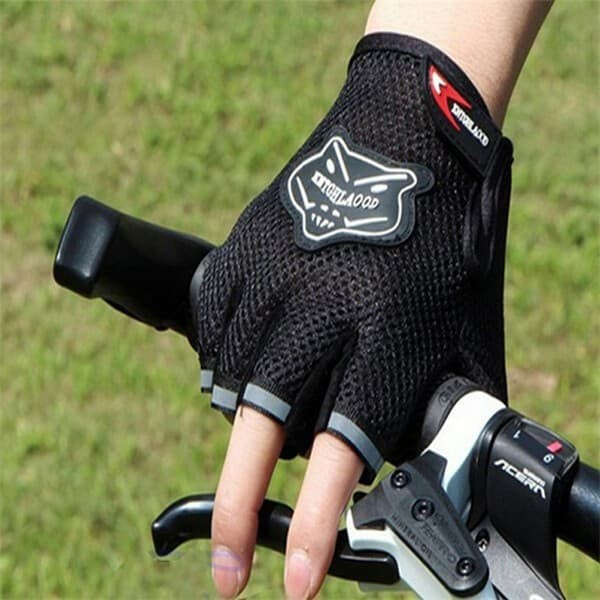 harga Sarung tangan fitness gym sepeda motor half finger kntghlaood mesh Tokopedia.com