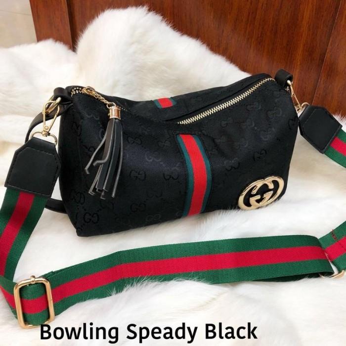 Jual Gucci Speady Bowling Bahan Kanvas - SnVshoppe  a37558b9f2