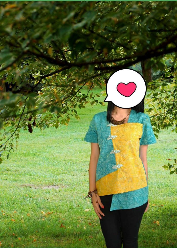 harga Blus batik Tokopedia.com