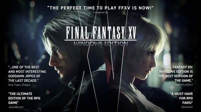 harga [game pc] final fantasy xv final fantasy 15 Tokopedia.com