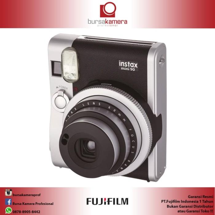 Jual Fujifilm Instax Mini 90 Neo Classic Instant Camera (Black) Harga Promo Terbaru