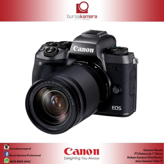 harga Canon eos m5 mirrorless with 18-150mm Tokopedia.com