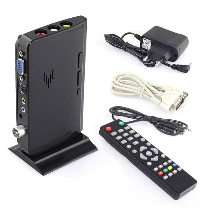 harga Tv tuner gadmei 5821 new.converter av to vga untuk monitor crt.lcd.led Tokopedia.com