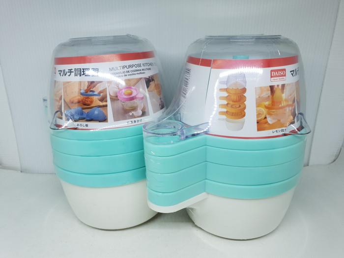 harga Daiso multipurpose kitchen tool alat dapur 4in1 pemeras jeruk parut o Tokopedia.com